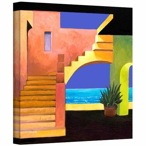 'Casa Del Mar' by Rick Kersten Photographic Print on Canvas
