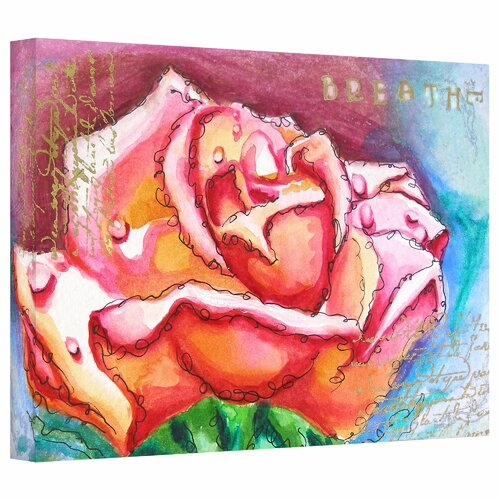 Art Wall 'Breathe' by Susi Franco Graphic Art Canvas