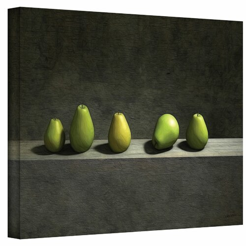 Cynthia Decker 'Five Pears' Gallery-Wrapped Canvas Wall Art