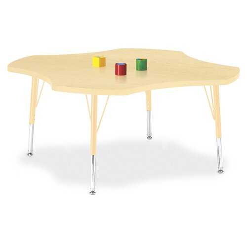 "Jonti-Craft Berries Four Leaf Activity Table (48"" x 48"")"