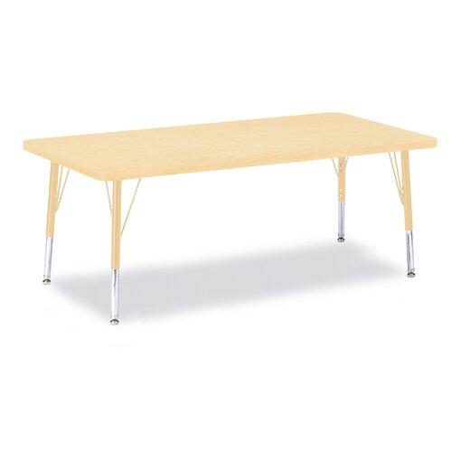 "Jonti-Craft Berries 60"" x 30"" Rectangular Classroom Table"