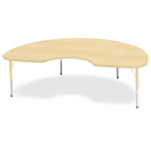 "Jonti-Craft Berries 72"" x 48"" Kidney Classroom Table"
