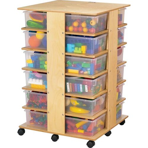 Jonti-Craft Tower 24 Compartment Cubby