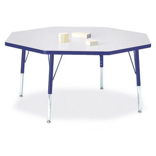 "Jonti-Craft Rainbow 48"" Octagon Classroom Table"