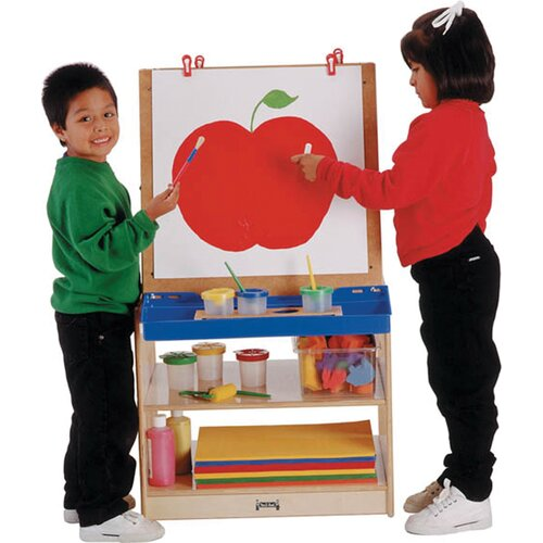 Jonti-Craft 2 Station Easel - School Age