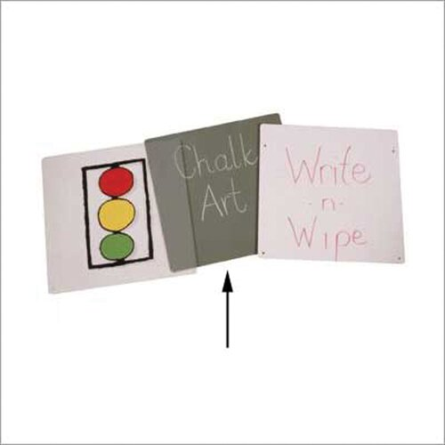 Jonti-Craft Chalkboard Easel Panel - Double