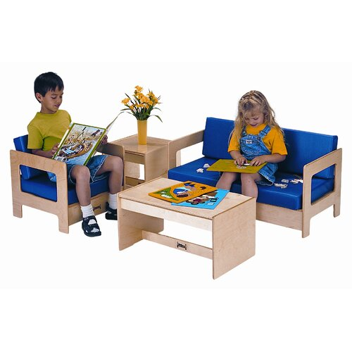 Jonti-Craft ThriftyKYDZ 4 Piece Living Room Set