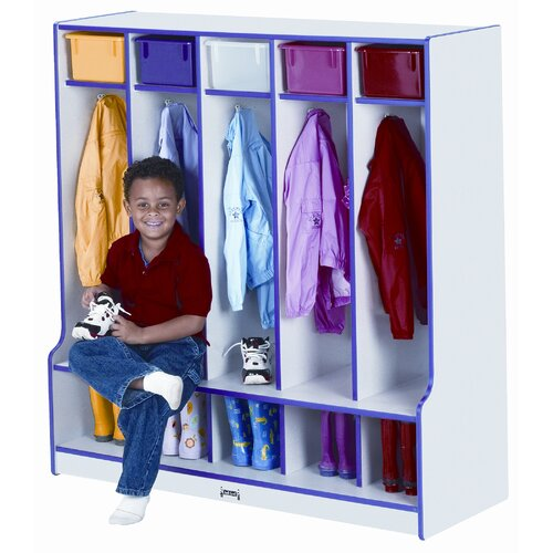 Jonti-Craft 5-Section Coat Locker