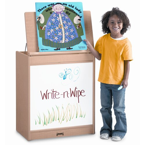 Jonti-Craft Write-N-Wipe Big Book Easel