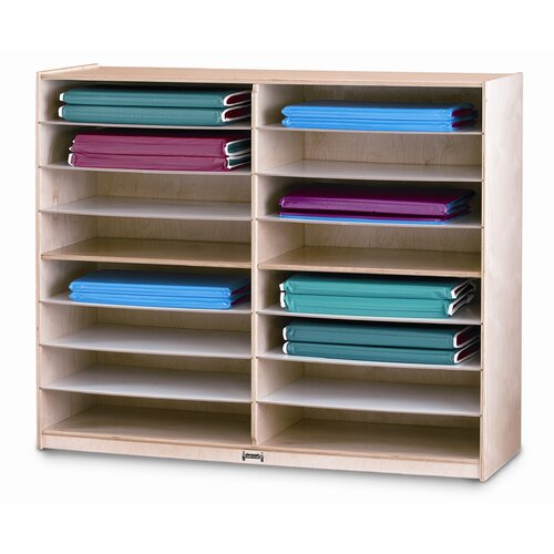 Jonti-Craft 16 Space Mat Storage