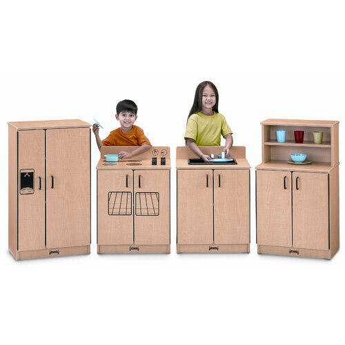 Jonti-Craft 4 Piece Laminate Kitchen Set