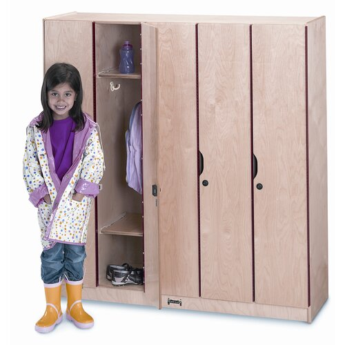 Jonti-Craft 5 Section Locker with Doors