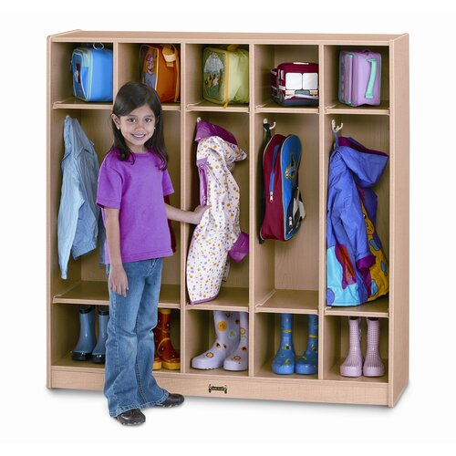 Jonti-Craft 5-Section Coat Locker