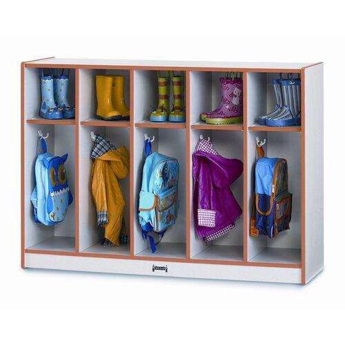 Jonti-Craft 5-Section Toddler Coat Locker