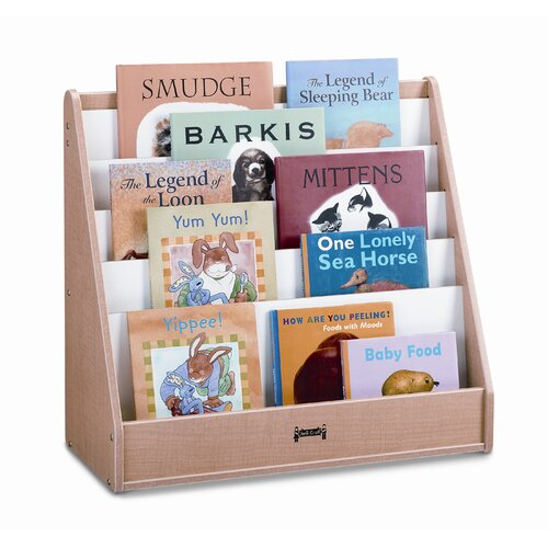 Jonti-Craft One Sided Wave Flushback Pick-a-Book Stand