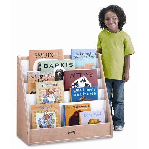 Jonti-Craft One Sided Wave Flushback Pick-a-Book Stand