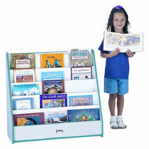 Jonti-Craft One Sided Flushback Pick-A-Book Stand