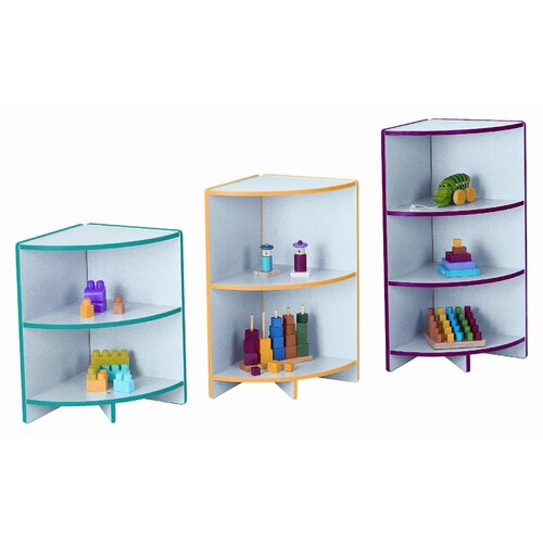 Jonti-Craft Kydzcurves Corner Storage Unit Cubbie