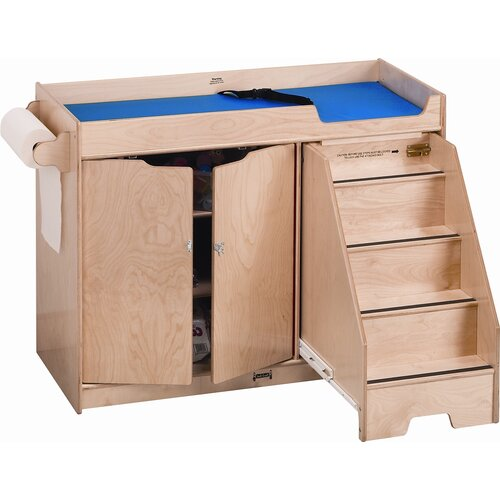 Jonti-Craft Right Changing Table with Stairs