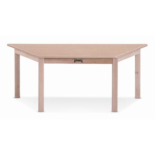 "Jonti-Craft 47"" x 20.5"" Trapezoidal Classroom Table"