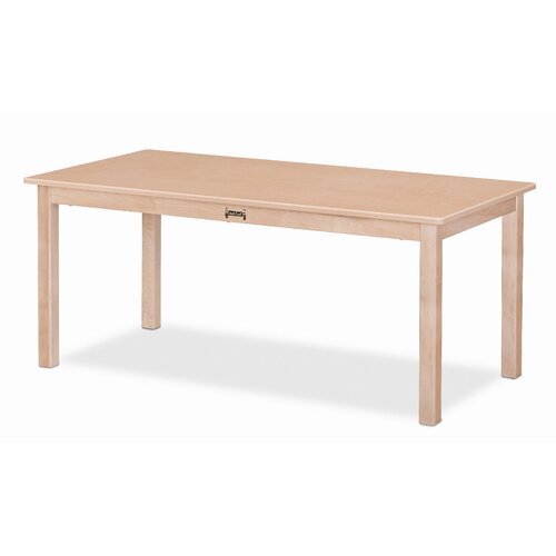 "Jonti-Craft 48"" x 24"" Rectangular Classroom Table"