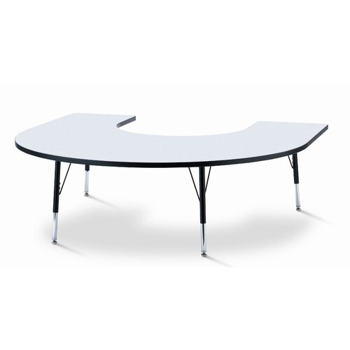 Jonti-Craft KYDZ Horseshoe Laminate Activity Table