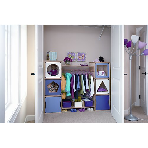 Jonti-Craft RooMeez Extra In-Between Shelf with Shoebox Dividers