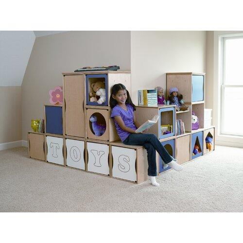 "Jonti-Craft RooMeez Extra 0.59"" Book Cabinet"