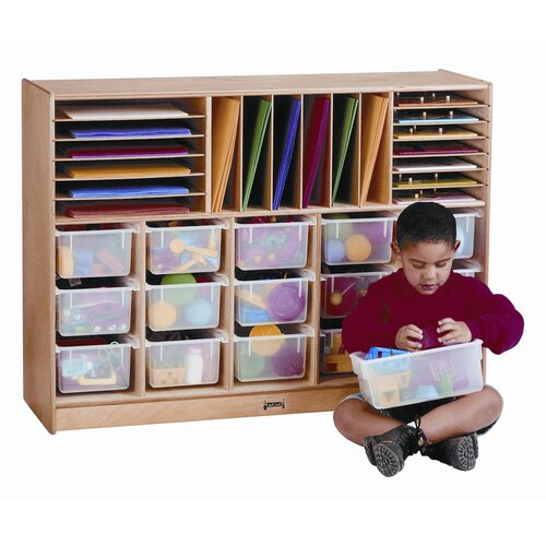 Jonti-Craft Sectional E-Z Glide 30 Compartment Cubby