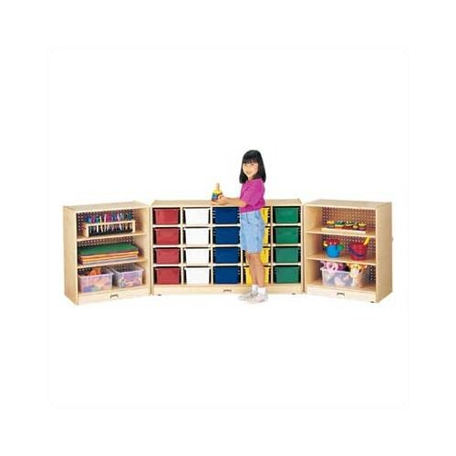 Jonti-Craft Triple Fold-n-Lock 29 Compartment Cubby