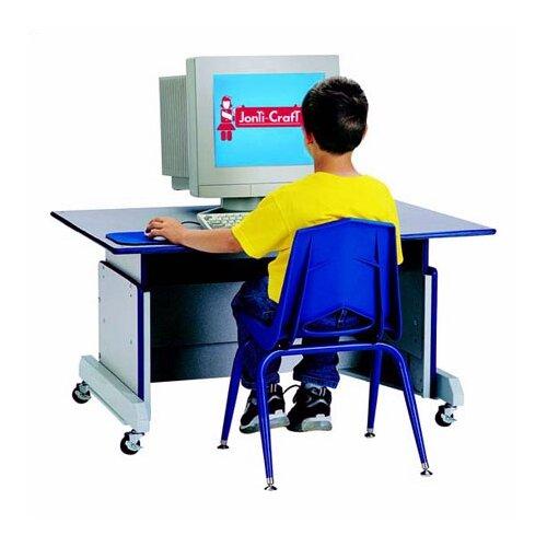 "Jonti-Craft Rainbow Accents 42"" W Computer Table"