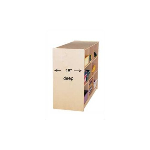 Jonti-Craft Low Single Storage Unit