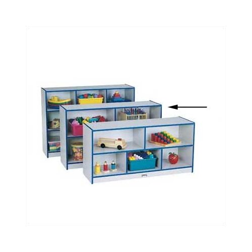 Jonti-Craft Rainbow Accents Low Single Compartment Storage