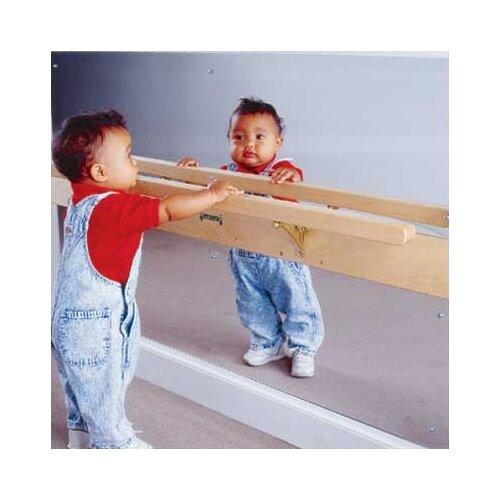 "Jonti-Craft 28"" H x 47"" W Infant Coordination Mirror"