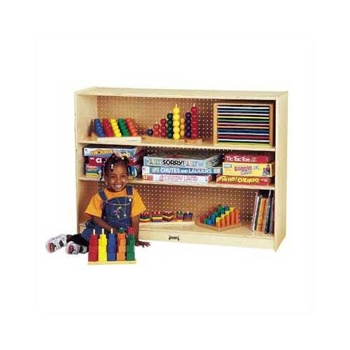 "Jonti-Craft 36"" H Mobile Adjustable Bookcase"