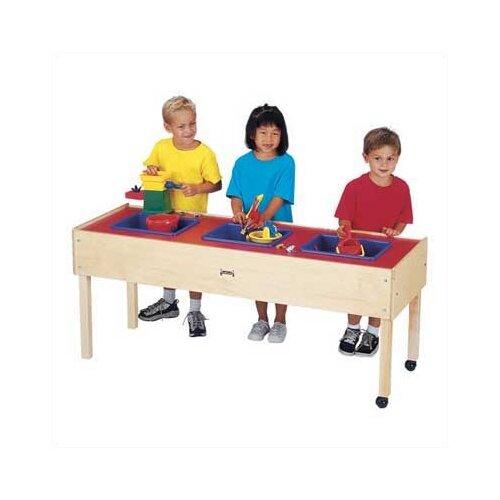 Jonti-Craft 3 Tub Sand-n-Water Table - Toddler