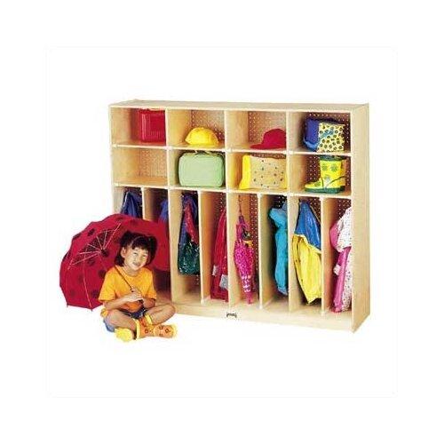 "Jonti-Craft Neat-n-Trim Lockers - 60"" - 8 Sections"