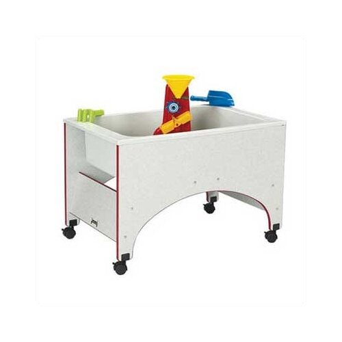 Jonti-Craft Rainbow Accents Space Saver Sand-n-Water Table