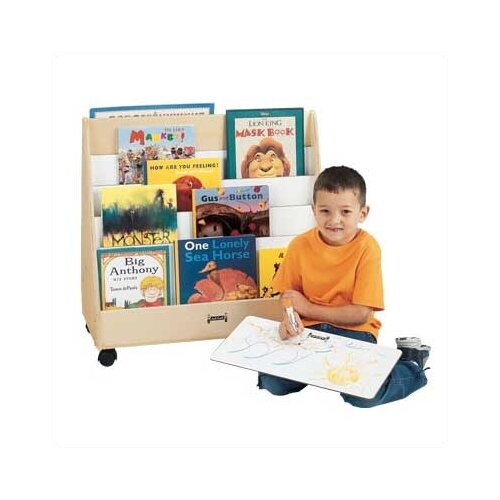 "Jonti-Craft 30"" Mobile 1 Sided Pick-a-Book Stand"