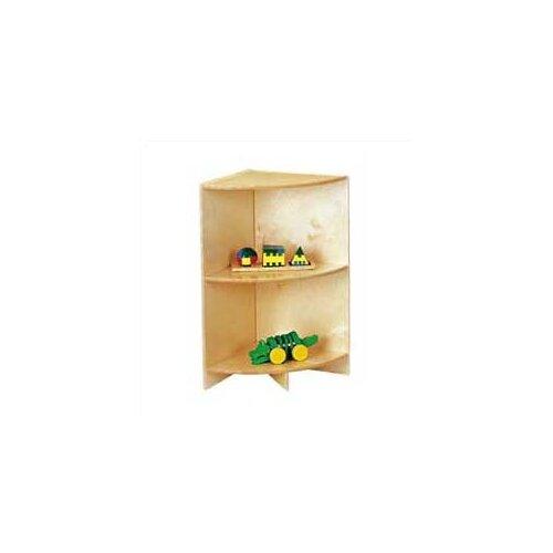 "Jonti-Craft KYDZ Curves 29"" H Corner Bookcase"
