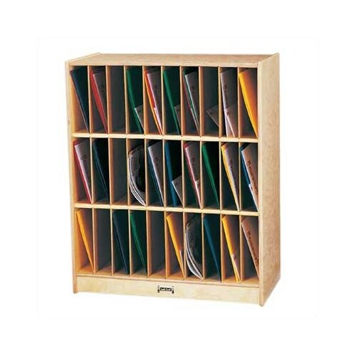 Jonti-Craft Portfolio Mailbox - 30 Slots