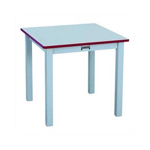 "Jonti-Craft Rainbow 24"" Square Classroom Table"