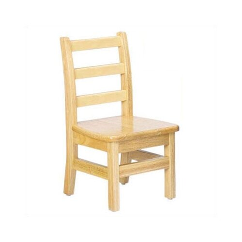 "Jonti-Craft KYDZ 8"" Wood Classroom Ladderback Chair"