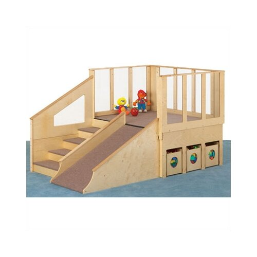 Jonti-Craft Tiny Tots Loft Playhouse