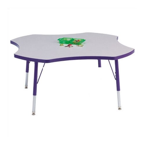 "Jonti-Craft KYDZ Four Leaf Clover Activity Table (48"" Diameter)"