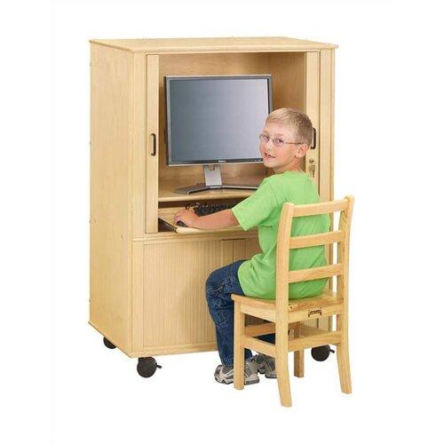 """Jonti-Craft KYDZ Euro Computer Cabinet - Rectangular (24"""" x 33.5"""")"""
