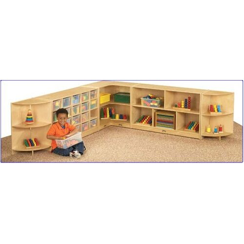 "Jonti-Craft KYDZ Corner Storage Unit - Rectangular (30"" x 15"")"