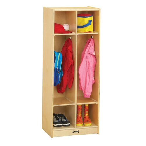 Jonti-Craft Double Locker - 2 Sections