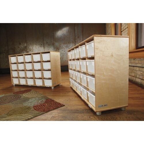Jonti-Craft TrueModern 20 Compartment Cubby