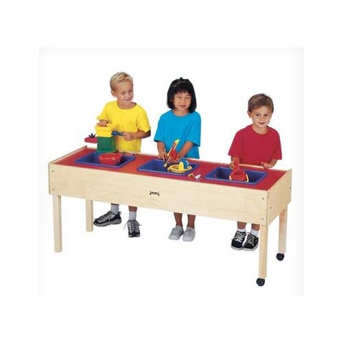 Jonti-Craft 3 Tub Sand-n-Water Table Cover